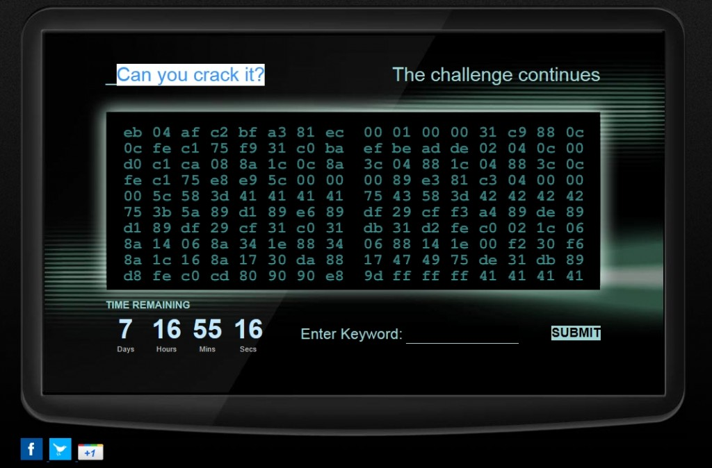 Can you crack it GCHQ code
