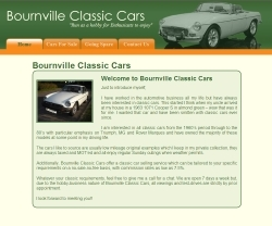 Bournville Classic Cars