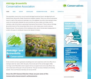 Aldridge Brownhills Conservative Association