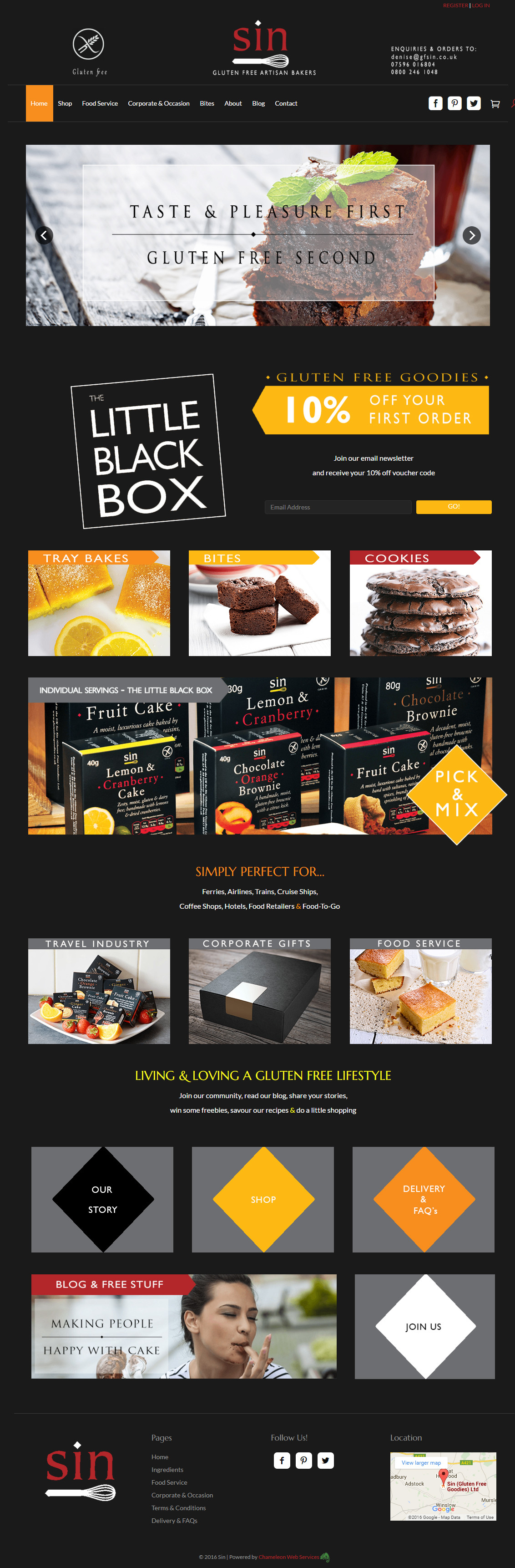 gluten free goodies website
