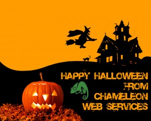 Happy Halloween from Chameleon Web Services