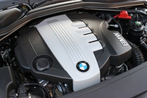 BMW Engine Photograph