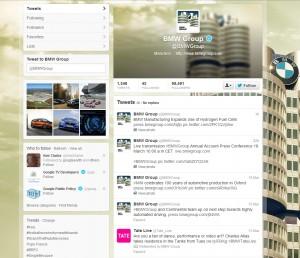 BMW Twitter Brand