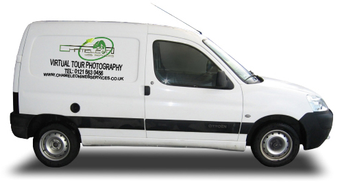 Chameleon 360 Photography Van