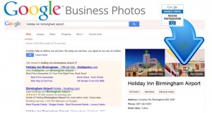 Google Business Photos Example In Search Results