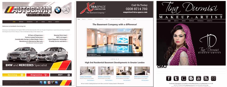 Web Design Portfolio 2013