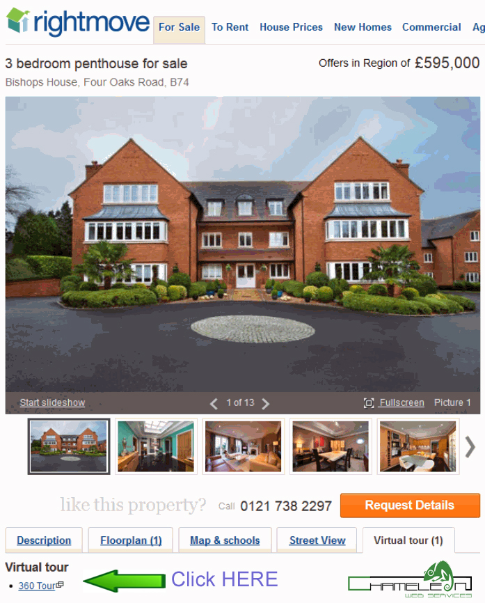 360 Vr Property Tours A Revolution In Property Sales: Ex Racing Car Driver Selling House With Chameleon 360 Tour