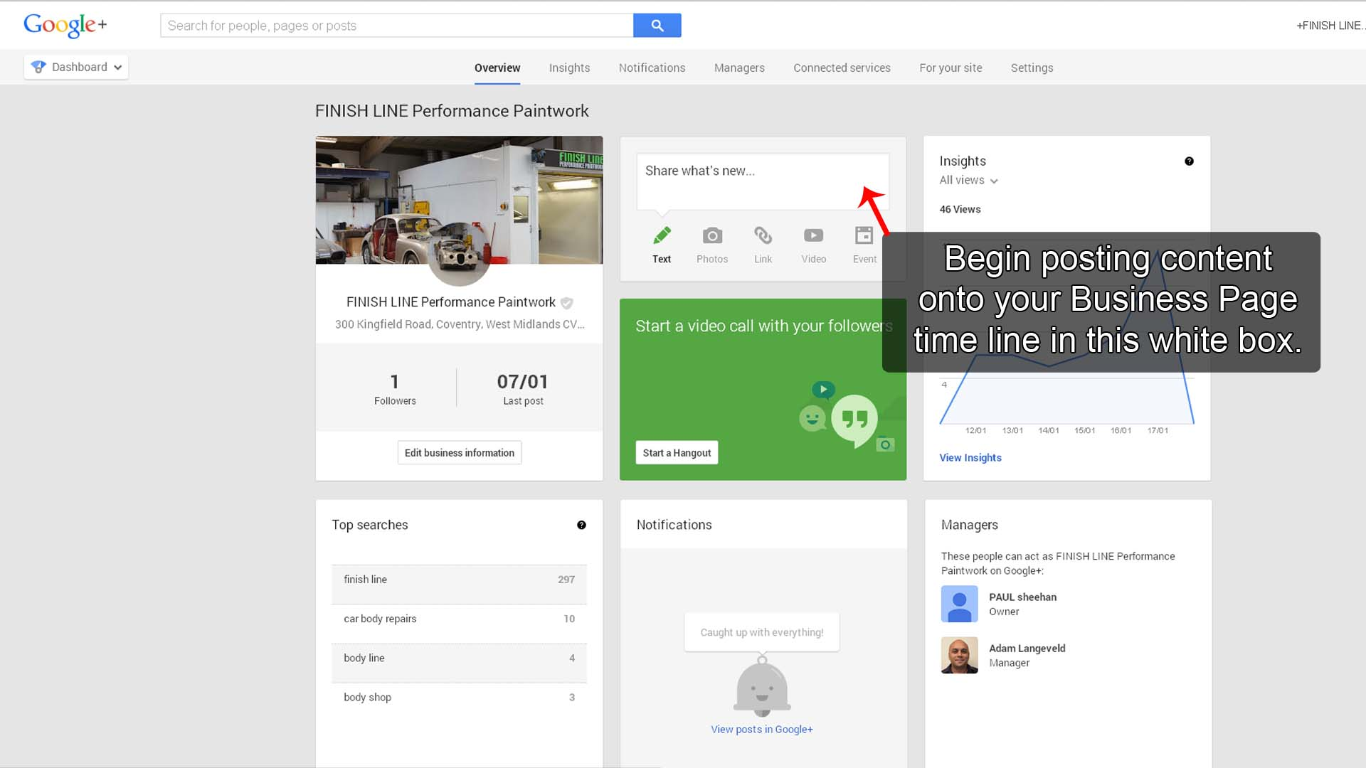 Google Manage Business Page Guide 8