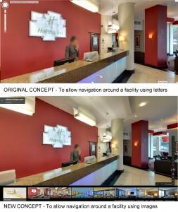 Google Business Photo Navigation Progress