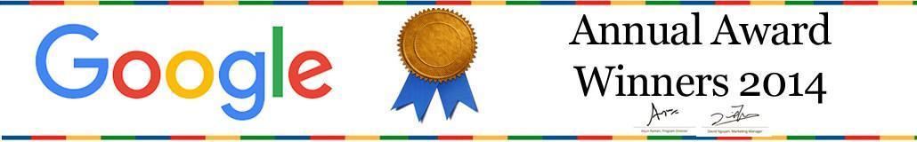 Google Award Winning Company