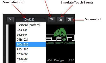 Responsive Design View Controls