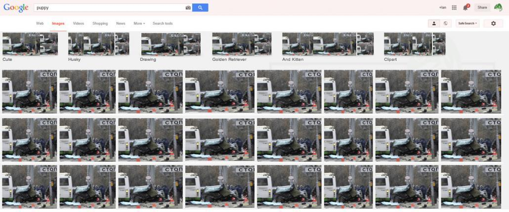 Google Hacked Russian Car Accident