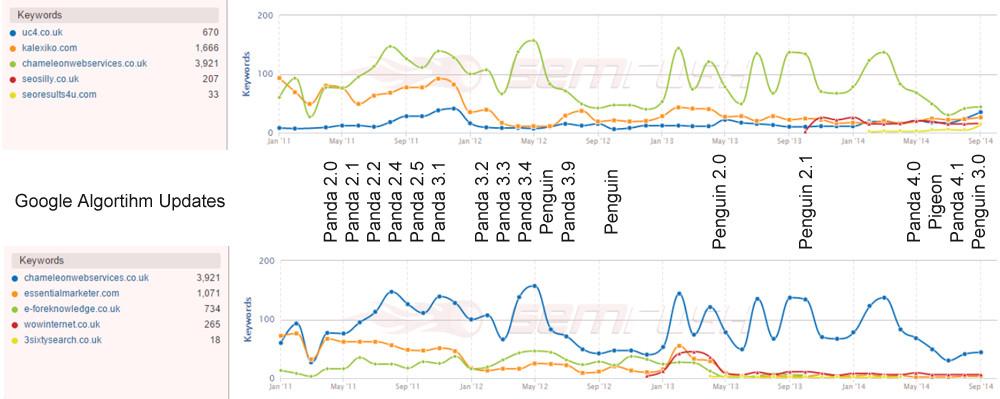 SEO Company Rankings