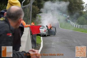Cadwell Park Crash MSVR