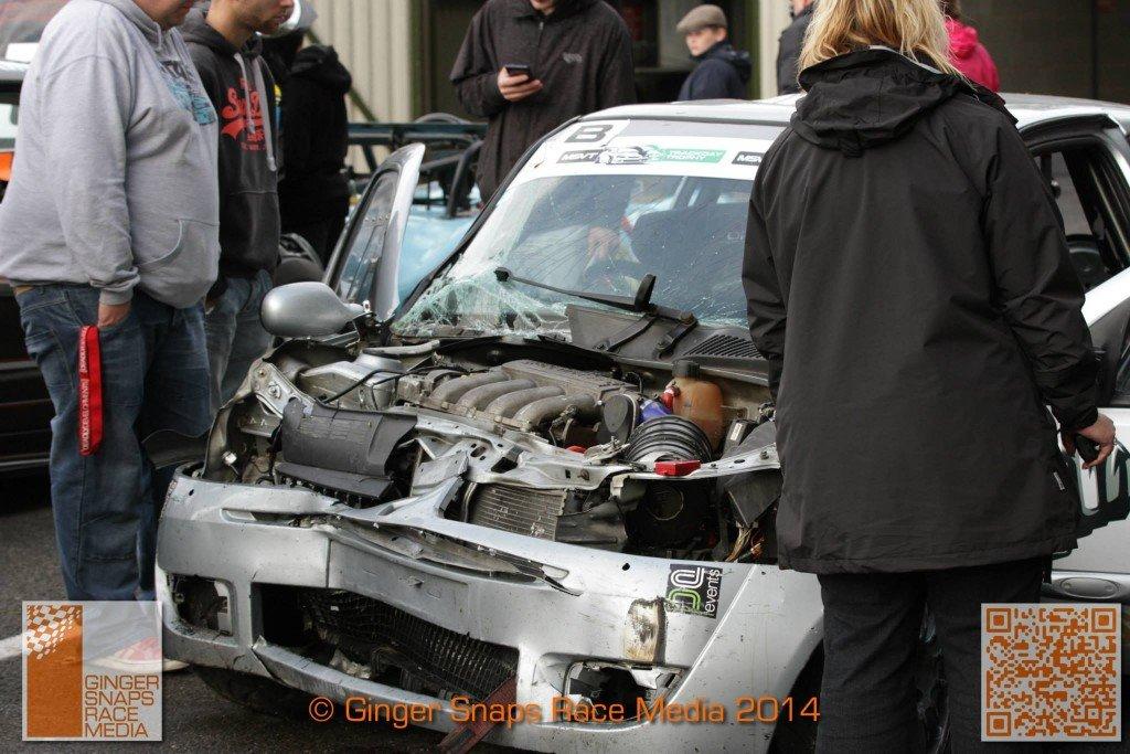 Cadwell Park Crash MSVR 4