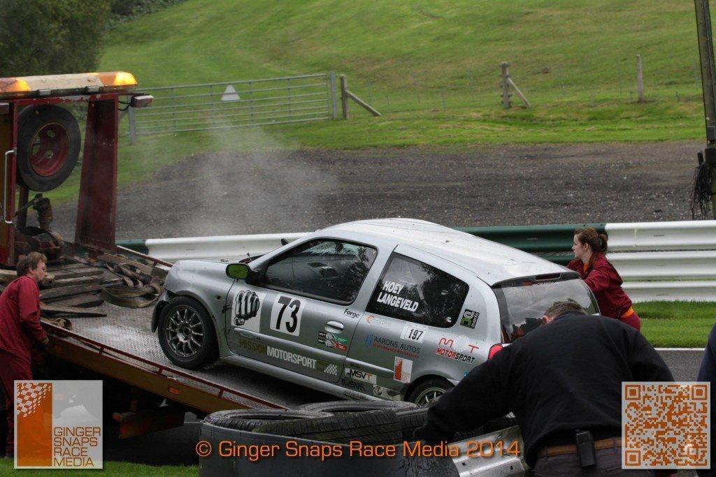 Cadwell Park Crash MSVR 5