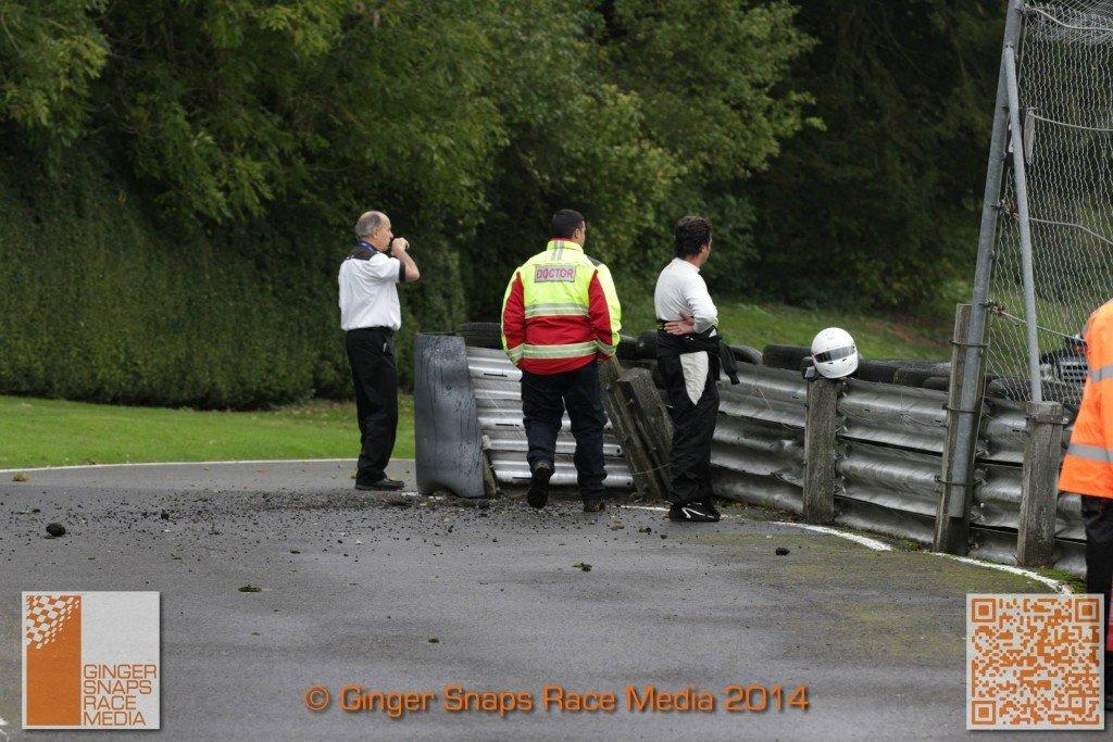 Cadwell Park Crash MSVR 6