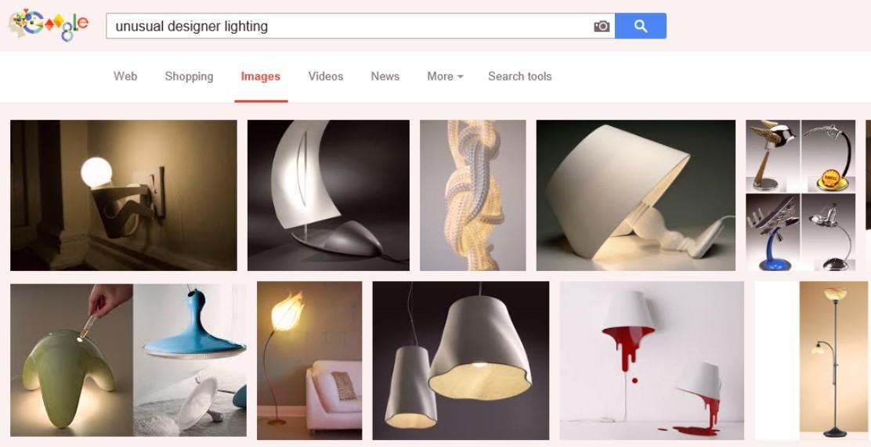 unusual designer lighting