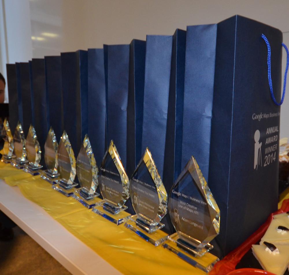 Google Maps Business View Annual Award Winners 2014