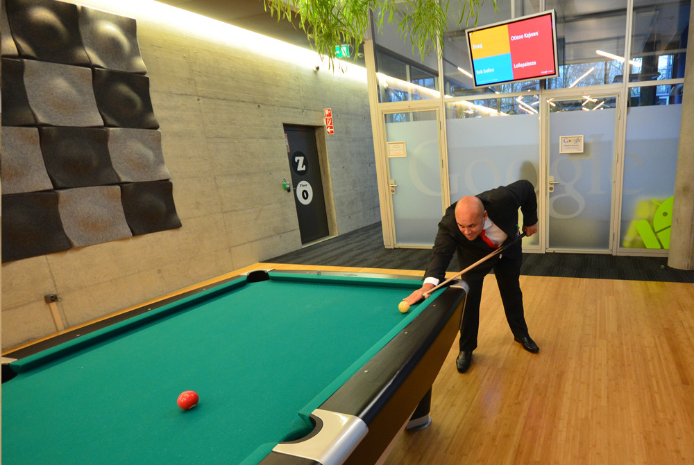 Pool Table Google