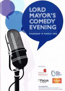 Birmingham Lord Mayors Comedy Night