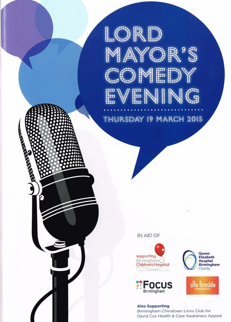 Birmingham Lord Mayors Comedy Night