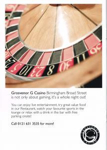Grovesnor Casino Birmingham
