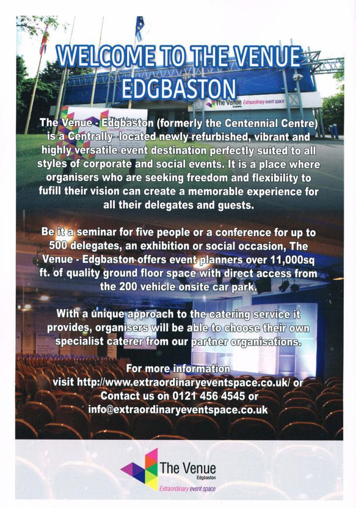 The Venue Edgbaston