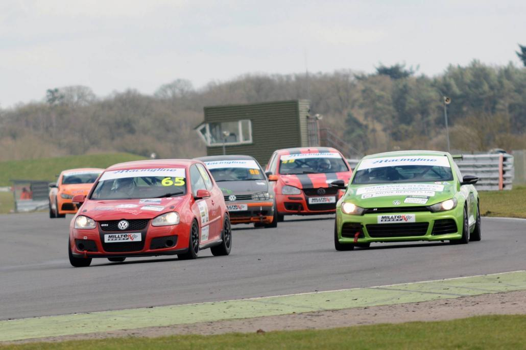 VAG Trophy Racing Snetterton 7