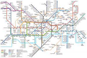 London Tube Map 2015