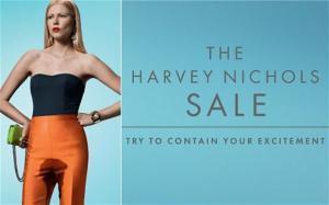 The Harvey Nichols Sale Advert