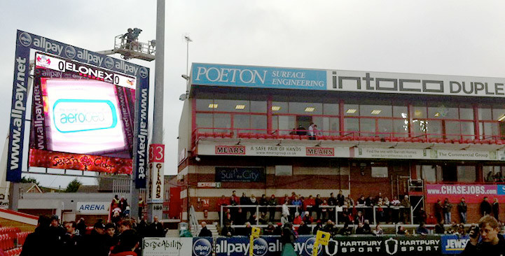 Gloucester Rugby Club Advertising