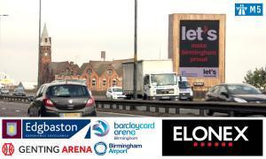M5 Junction 1 Display Advertising Board