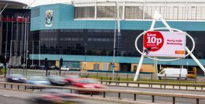 Ricoh Coventry Digital Display Advertising