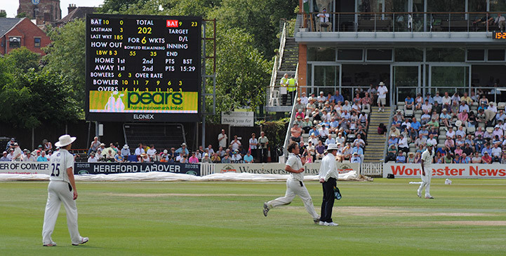 Worcester Cricket Club Advertising