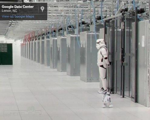 Google Storm Trooper