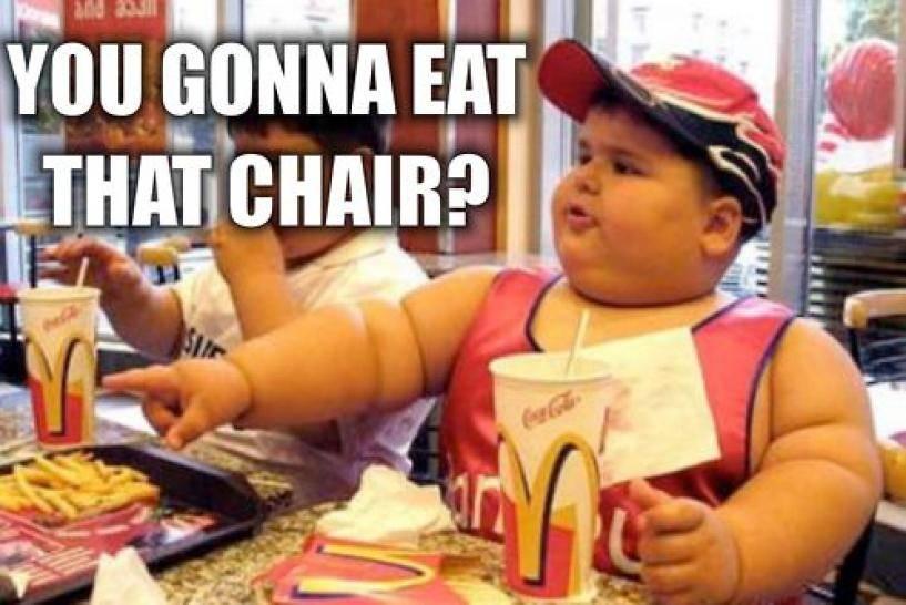 over weight children