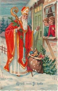 saint nicholas santa claus