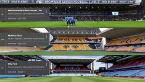 The 3 stadiums