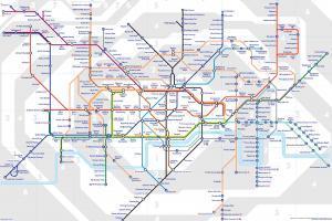 London Tube Map Printable 2016