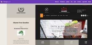 CSS Design Award Gluten Free Goodies