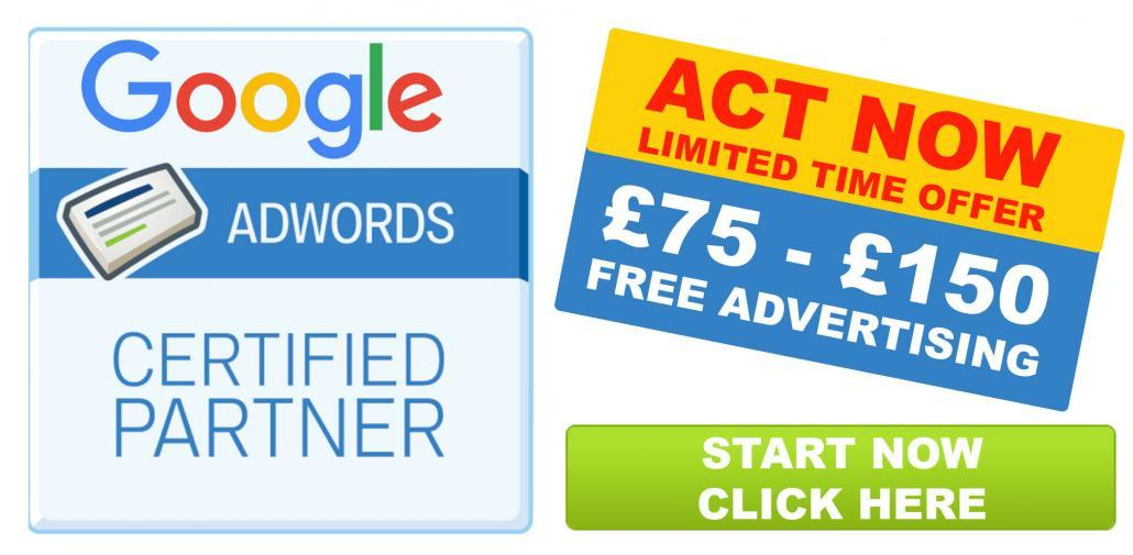 Google Adwords Voucher £75 £150