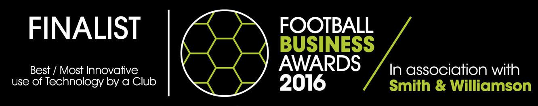 Football Business Awards 2016 Finalist Best Tech Club