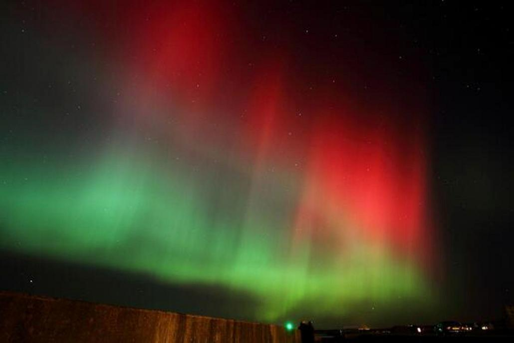 Birmingham Northern Lights Tonight 26-10-2016