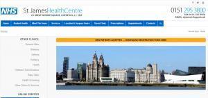 st-james-health-web-design