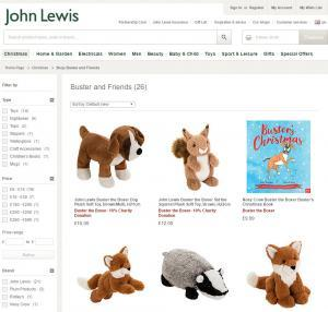John Lewis Buster The Boxer