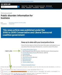 Government seo links