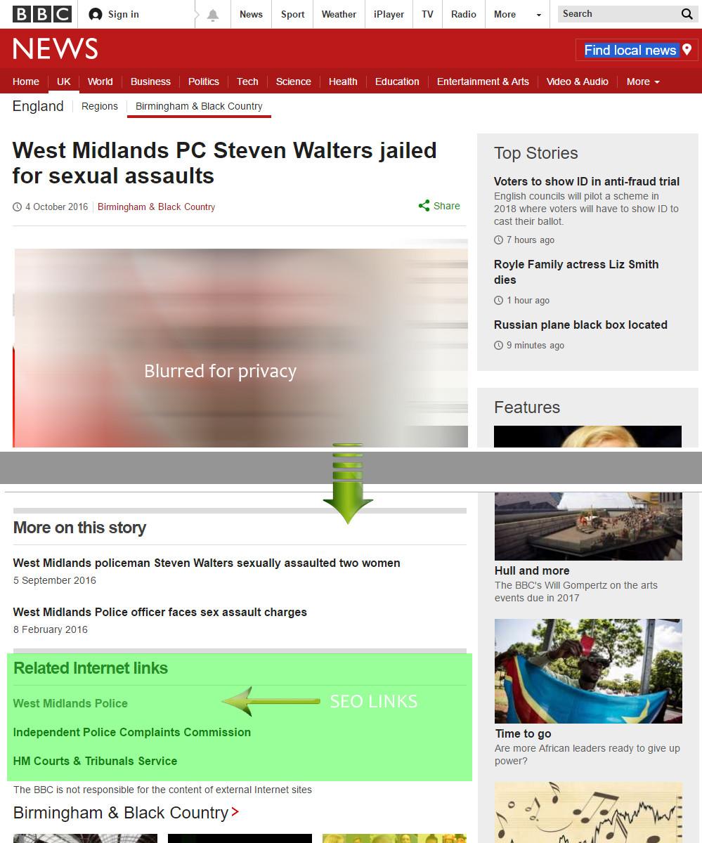 bbc seo links