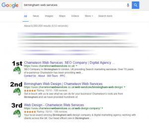 Birmingham Web Services Hero