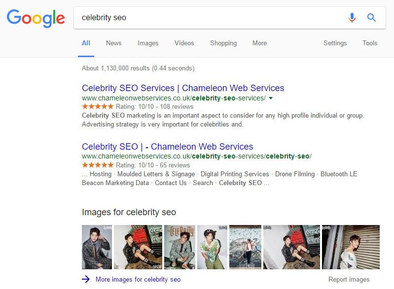Celebrity SEO Company